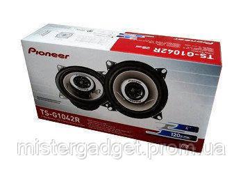 Автоакустика Pioneer TS-G1042R Колонки коаксиальные двухполосные 10см, фото 2