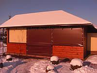 Защитные непрозрачные шторы ПВХ, фото 1
