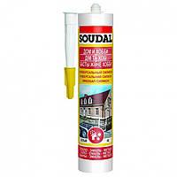 Герметик универсальный силиконовый белый Soudal 300 мл