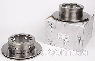 Диск тормозной задний MB Sprinter, Мерседес Спринтер 408-416, Volkswagen LT, Фольксваген LT 46 96- (285x22)