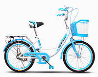 "Детский велосипед FASHION CITY BIKE 20"" (от 5.5 лет или от 120 см)"