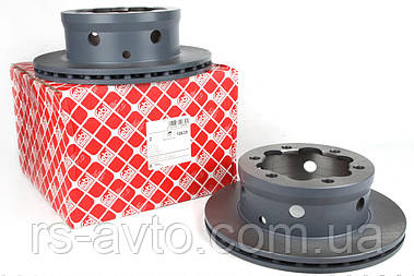 Диск гальмівний задній MB Sprinter, Мерседес Спринтер 408-416, VW LT, Фольксваген LT 46 96- (285x22) 10639