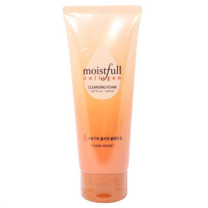 Пенка для умывания с коллагеном Etude House Moistfull Collagen Cleansing Foam 150 ml