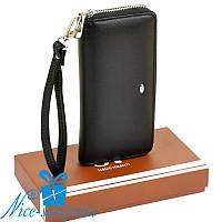 Женский кошелёк с ремешком Sergio Torretti W38 black
