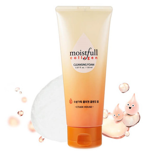 Etude House Moistfull Collagen Cleansing Foam 150 ml