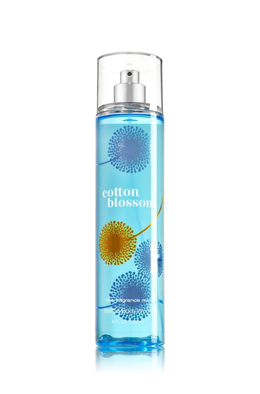 Спрей для тела Bath & Body Works Cotton Blossom Fragrance Mist