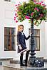 """Детское школьное платье """"LANA"""" с брошью и кружевом (2 цвета), фото 2"""