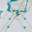 Стульчик для кормления голубой JOY , фото 7