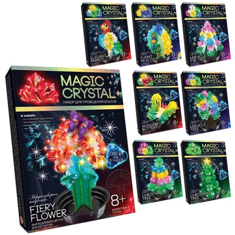 Набор для проведения опытов MAGIC CRYSTAL Danko Toys