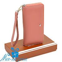 Женский кошелёк на змейке с ремешком Sergio Torretti W38 light-orange, фото 1