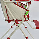 Стульчик для кормления красный JOY , фото 5