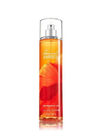 Спрей для тела Bath & Body Works Sensual Amber Fragrance Mist, фото 2