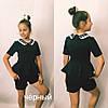 Детский комплект для девочки шорты и блузка  / 2 цвета  арт 6471-442, фото 2