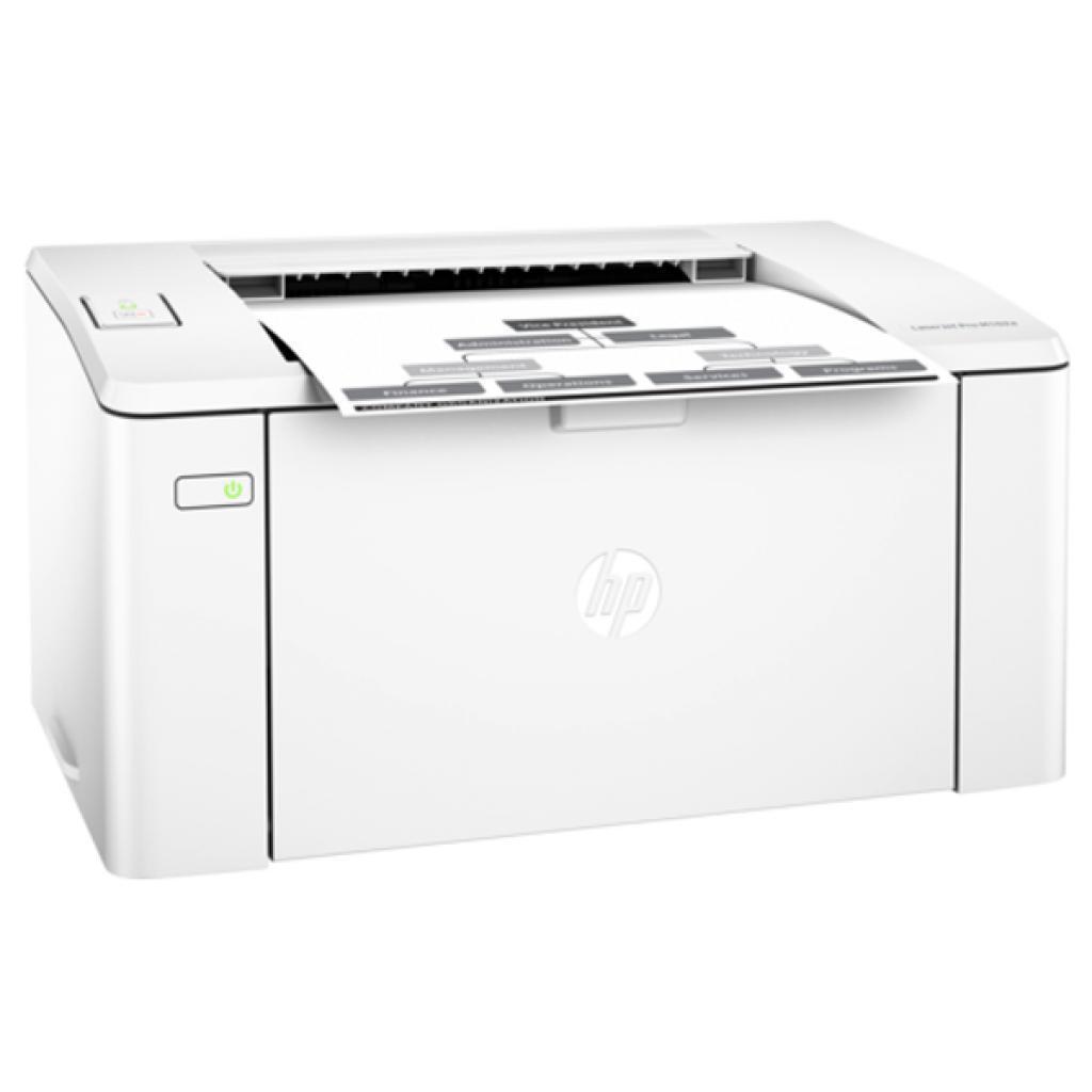 Принтер лазерный HP LJ Pro M102a (G3Q34A), White