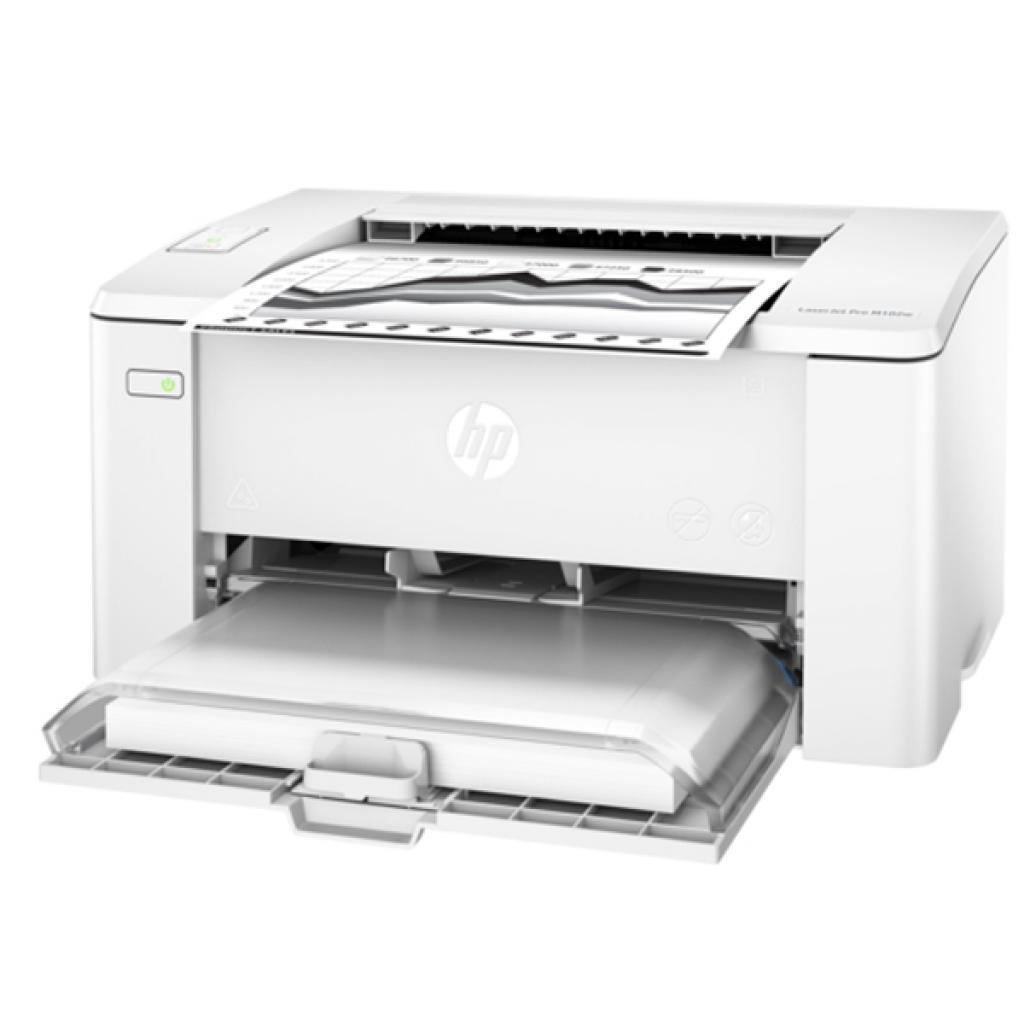 Принтер лазерный HP LJ Pro M102w (G3Q35A), White, WiFi