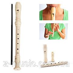 Блок-флейта Maxtone, барочная система + шомпол для чистки