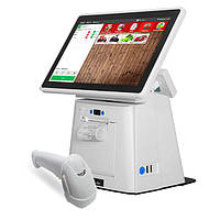 Комплект POS-оборудования для автоматизации торговли (минимаркетов, бутиков, магазинов), фото 1