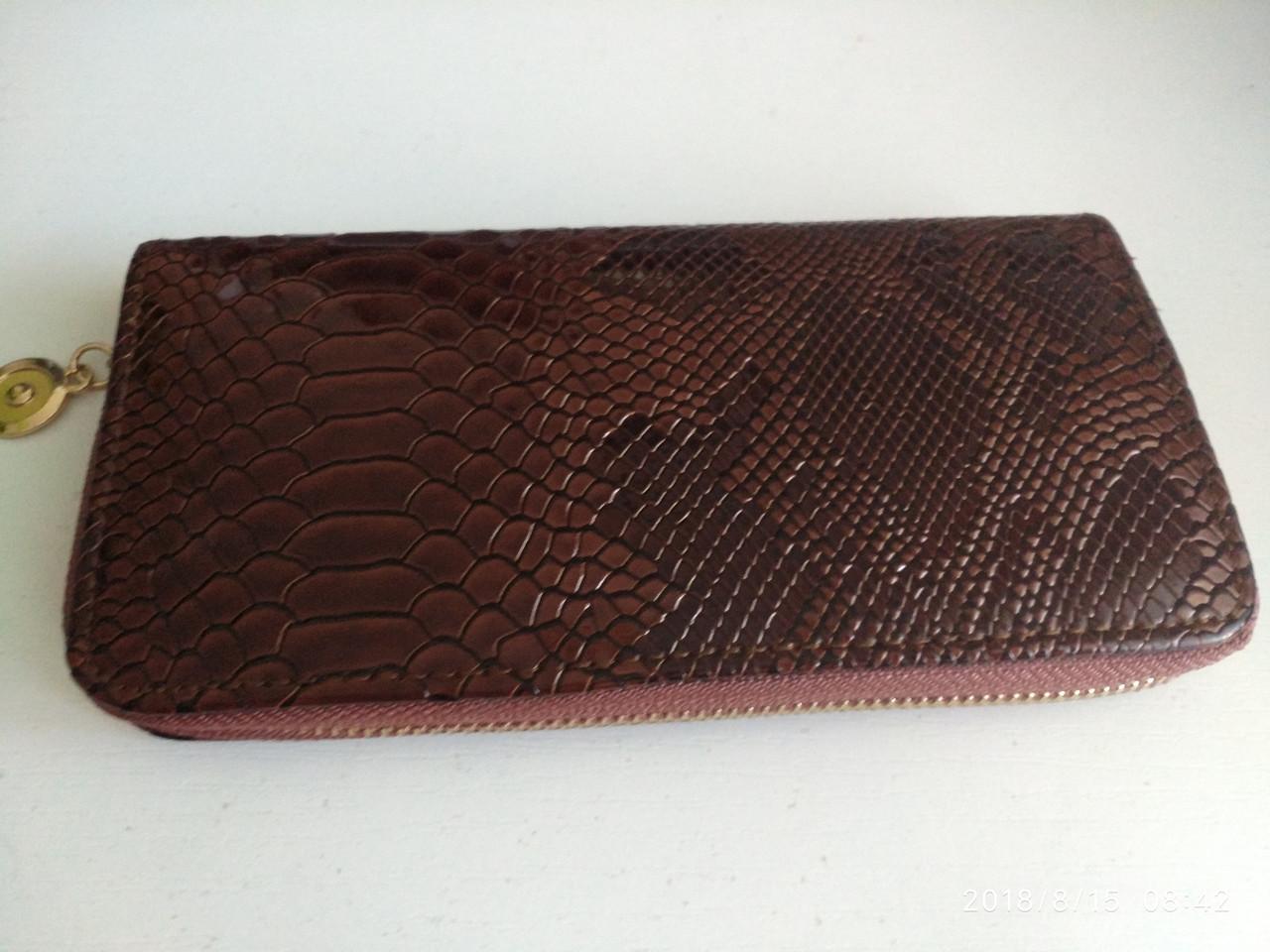 Женский кошелек,женское портмане,коричневый цвет