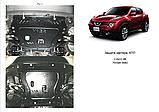 Защита картера двигателя и кпп Nissan Juke, фото 7