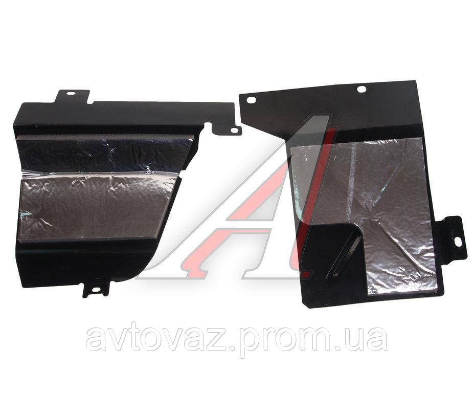 Брызговик, защита ВАЗ 21214 Нива двигателя комплект (2ШТ)