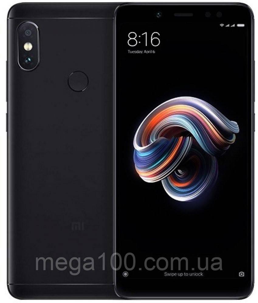 "Смартфон Xiaomi Redmi Note 5 black (""5.99 экран; памяти 4/64GB, батарея 4000 мАч) GLOBAL"
