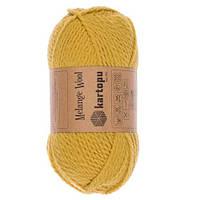 Пряжа шерстяная с акрилом для вязания Kartopu Melange Wool 100 гр./170 м. K3063
