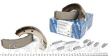 Колодки ручника MB Mercedes Sprinter, Мерседес Спринтер (901-903) 95-06 , Volkswagen LT, Фольксваген LT II 96-06 (з пружиною) 014 042 0502/S