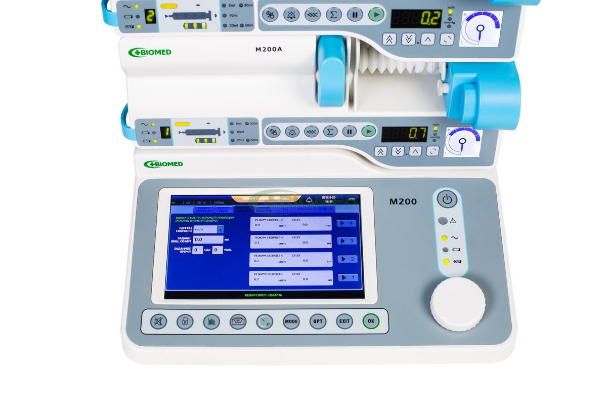 Станция инфузионная M200