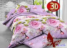 """Постельное белье """"Розы 616"""" 3D"""