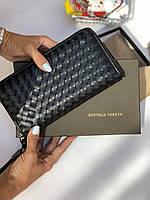 Универсальное портмоне Боттега Венета натуральная кожа (реплика)