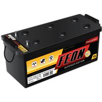 Аккумулятор для грузового автомобиля FEON 6СТ-190 Аз 1150A L