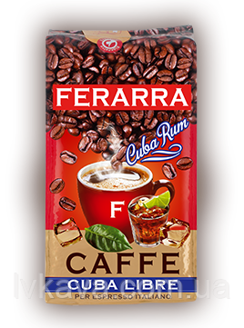Кофе молотый Ferarra caffe Cuba Libre  ,250г