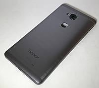 Задняя крышка Huawei Honor 5X (KIW-L21)/Honor X5/GR5, серая, оригинал (Китай)