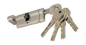 PALADII SP цилиндр 70мм Т(30*40) SN с вертушком сатен 5 лазерных ключей