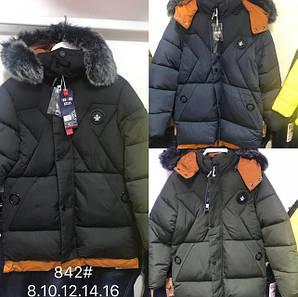 Куртка подростковая зимняя оптом на мальчика