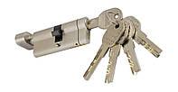 PALADII SP цилиндр 70мм Т(35*35) SN с вертушком сатен 5 лазерных ключей, фото 1