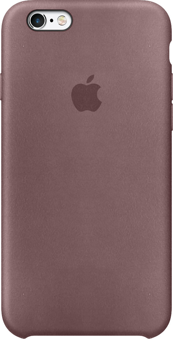 Чехол Apple case Alcantara for iPhone 6s indian red