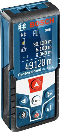 Дальномер лазерный Bosch GLM 50 C Bluetooth (0601072C00)