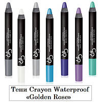 Тени-карандаш для век Golden Rose Crayon Waterproof