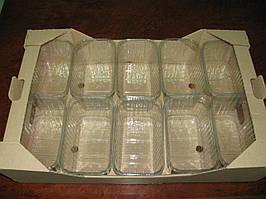 Гофролоток полуничний на 10 пінеток по 500 р. ягоди