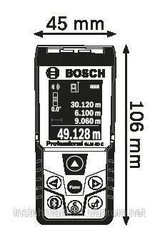 """Дальномер лазерный Bosch GLM 50 C Bluetooth (0601072C00) в интернет-магазине """"Инстехмаркет"""""""