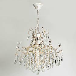 Люстра хрустальная для зала, спальни, 4-х ламповая