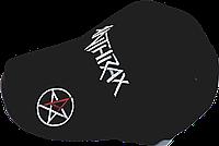 Бейсболка  вышитым логотипом рок группы