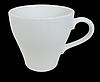 Чашка 240 мл. фарфоровая, белая FARN (блюдце 32573), фото 2