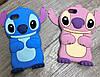 Чехол Лило и Стич для iPhone 8 Plus, голубой