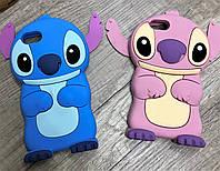 Чехол Лило и Стич для iPhone 8 Plus, голубой, фото 1