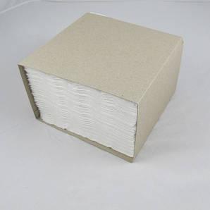 Салфетка белая 3-х слоя в картонном боксе 33х33 см., 100 шт/уп