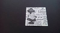 Наклейка газетная вырезка