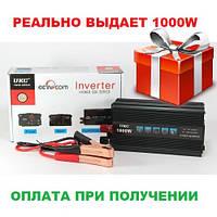 Автомобильный инвертор UKC 1000W Преобразователь 12V-220V Inverter I-Power SSK , фото 1