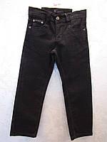 Черные джинсы для мальчиков 116,122,152 роста Школа